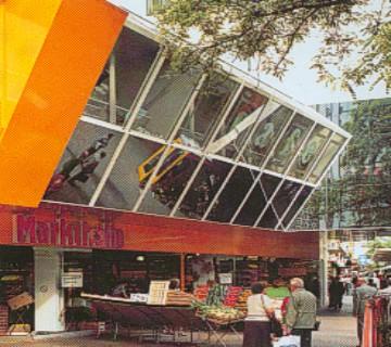 Architekten Ludwigshafen kammel architekten und ingenieure markthalle bismarkzentrum